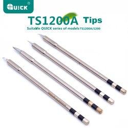 Consejos de soldadura TSS02 para Estación de soldadura rápida TS1200A sin plomo