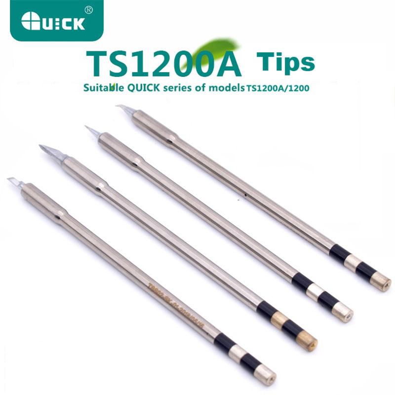 TSS02 Solder Tips for QUICK TS1200A Lead-free Soldering Station