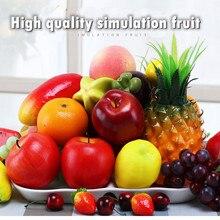 Искусственные фрукты, искусственные фрукты, украшение для дома, Оранжевый персик, банан, киви, украшение для фотосъемки