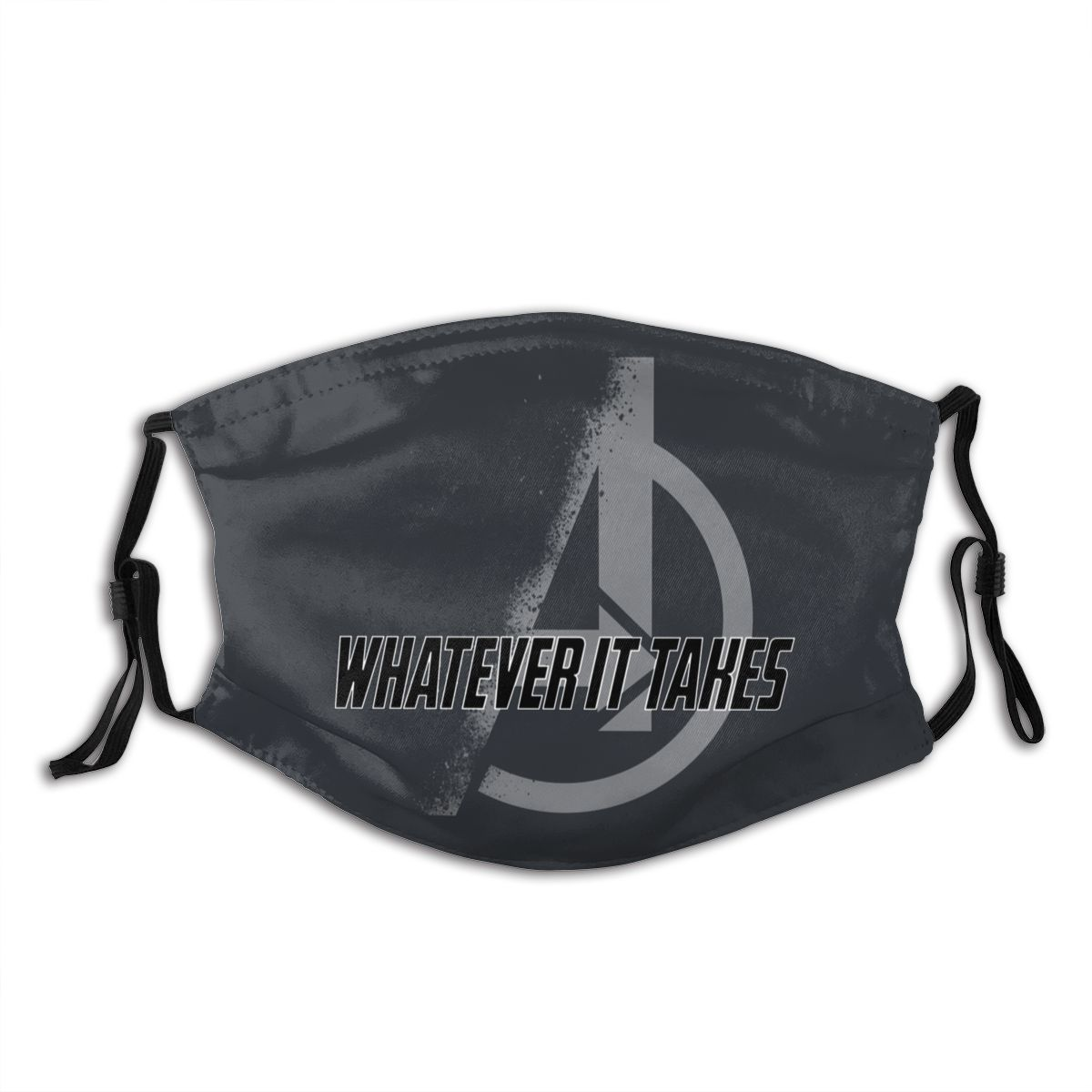 Whatever It Takes Avengers Unisex Reusable Face Mask With Filter Anti Bacterial Dustproof Mask Respirator Mouth Muffle
