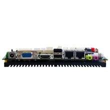 מפעל המחירים הטובים ביותר Intel Atom N2800 Fanless תעשייתי האם עבור מחשב רכב X86 מוטבע לוח