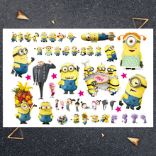 Hasbro Doll party Children Cartoon Temporary Tattoo Sticker For Boys Toys Waterproof Party Kids Gift