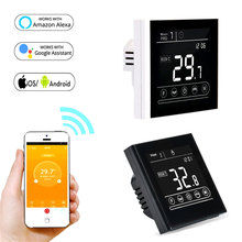 Remote Controler Temperature Smart Thermostat for Google Home, Alexa Electric Water Gas Boiler Floor Heating Thermostat 95~240V