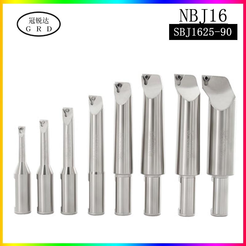 NBJ16 Boring Tool Bar SBJ1625 Depth 90mm Range 25mm-31mm Bar Boring Head Boring Head With Bar Fine Boring Tool Bar