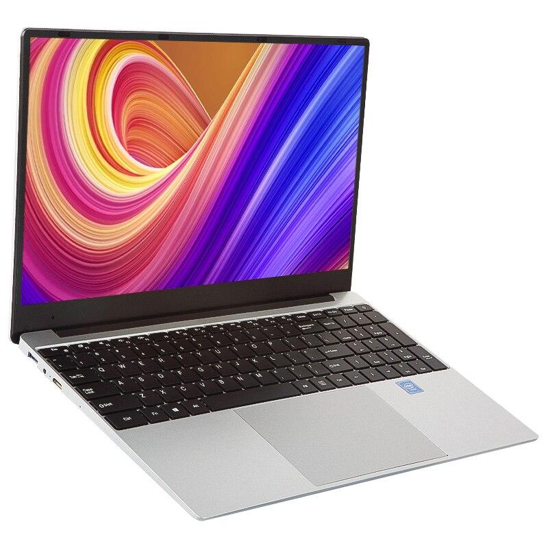 Ультратонкий 15,6 дюймовый ноутбук Intel i7 4650U 8 ГБ ОЗУ 1080P ноутбук Windows 10 двухдиапазонный WiFi Полный макет клавиатуры компьютера
