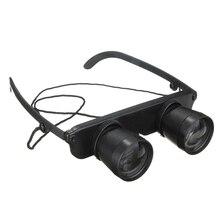 New Hot Schwarz 3x28 Brille Vergroesserungsglas Lupenbrille Brillenlupe Glaeser Stil Angel Reise Fernglas Theater Lup Fisch Opti
