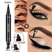 Cmaadu карандаш-подводка для глаз жидкий косметический макияж Карандаш Водостойкий Набор для бровей двойной макияж подводка для глаз кошачья полная профессиональная