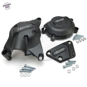 Image 3 - Motorfietsen Motorkap Protector Waterpomp Covers Case Voor Gb Racing Voor Yamaha YZF600 R6 2006 2016