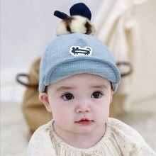 Cute Baby Girl Boy Autumn Winter Hat Fur Ball Soft Warm Kid Lovely Unisex Breathable
