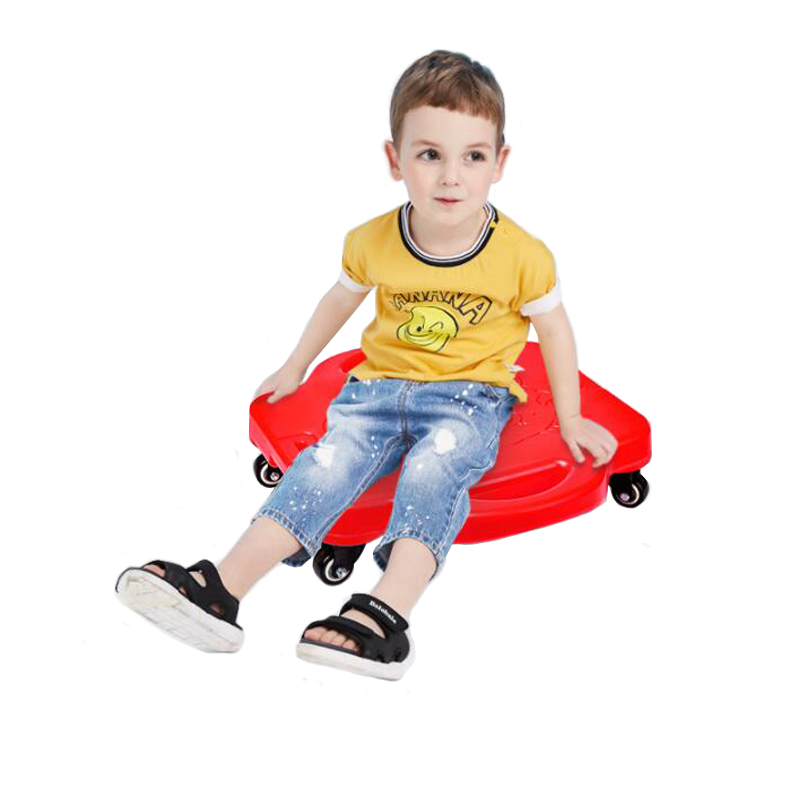 Four Wheel Skateboard Scooter For Kids Balance Board Girls Boy Toys 5 6 7 8 9 Years ADHD Autism Sensory Play Children Games