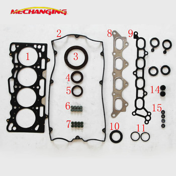 4G15M 4G15T For Mitsubishi COLT SMART FORFOUR 1.5 Engine Seal Overhaul Package Engine Parts Full Set Engine Gasket 1000A272
