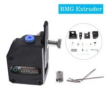 Dual Bowden 3D Printer Bondtech BMG Cloned Extruder Double Drive Deceleration Black 1pcs