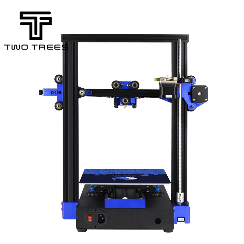 BLUER TWO TREES 3D Printer with Touch screen for High Quality Printing 4