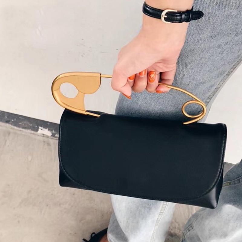 PU Leather Handbag Women Design Chains Flap Shoulder Bag 2020 Fashion Evening Party Clutch Bags Purse Mini Messenger Tote Female