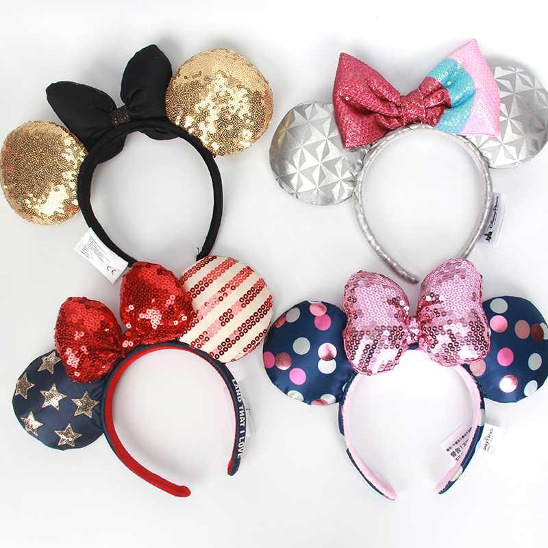 Sequin EARS COSTUME Headband Cosplay Plush Adult/Kids Headband Gift