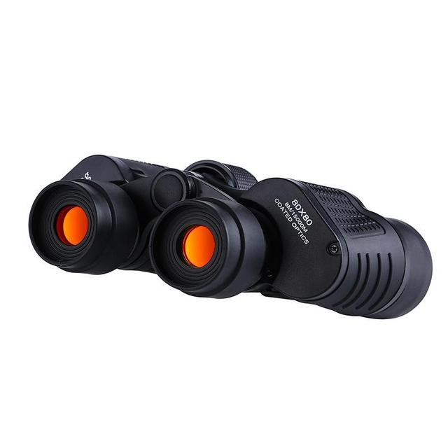 Binoculars 80X80 Long Range 15000m HD High Power Telescope Optical Glass lens Low light night vision for Hunting Sports scope 4