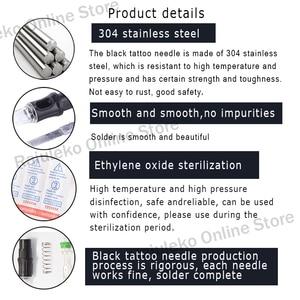 Image 4 - Hot Sale Tattoo Needle Cartridges 10/ 5pcs 5RM/7RM/9RM/11RM/13RM/15RM 0.35mm Disposable Semi Permanent Eyebrow Makeup Needles