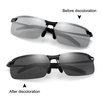 TTLIFE Photochromic Sunglasses Men Polarized Glasses Male Change Color Sun Glasses Day Night Vision Driving Eyewear YJHH0165