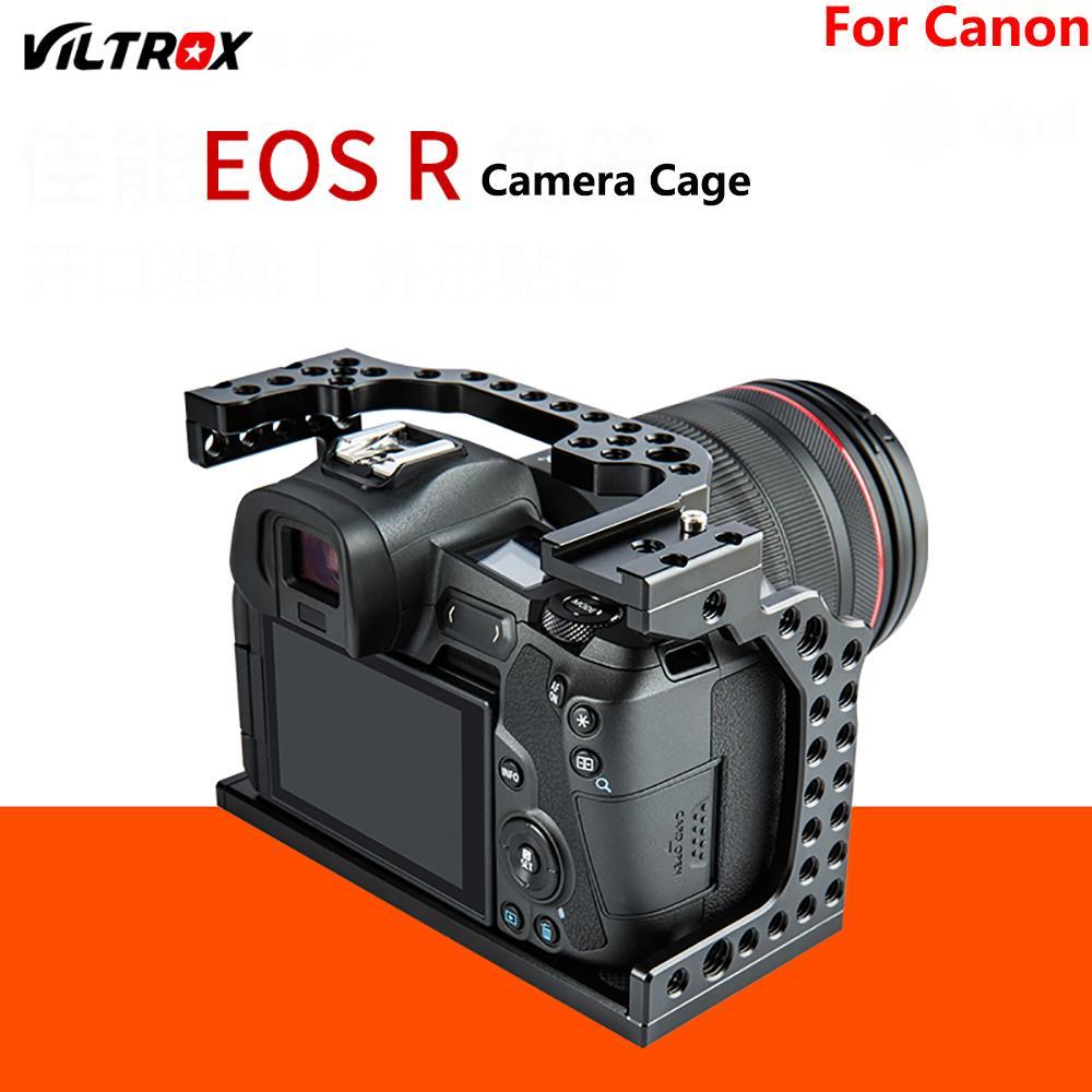 Viltrox CR-01 Cage pour appareil photo Canon EOS R plein cadre appareil photo poignée Estabilizador celulaire kit de bricolage stabilisateur vidéo pour appareil photo
