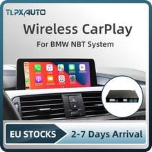 Беспроводной Apple CarPlay Android Авто интерфейсный блок для BMW F10 F11 F01 F02 F07 GT НБТ Системы с 6,5 ''/8,8''/10,2 'экран
