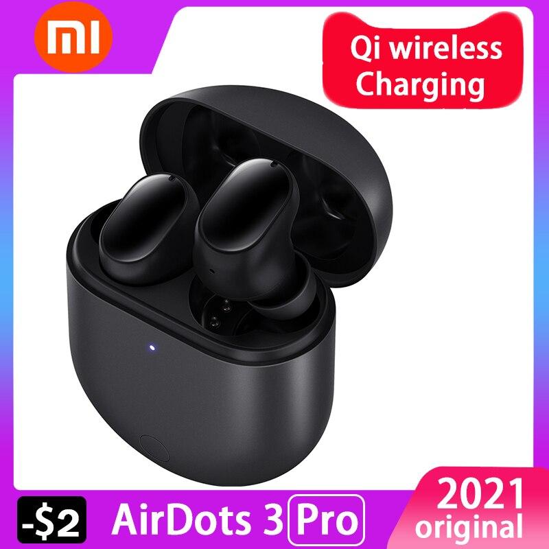 Для маленьких девочек, рекламируемый товар Xiaomi Redmi AirDots 3 pro Mi True Wireless 2 Bluetooth наушники автоматическая связь Smart одежда Apt-X Адаптивная гарнитура
