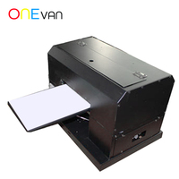 ONEVAN.Automatic A4 UV flatbed printer for Phone Case /Metal/Wooden/PVC with RIP9.0 software