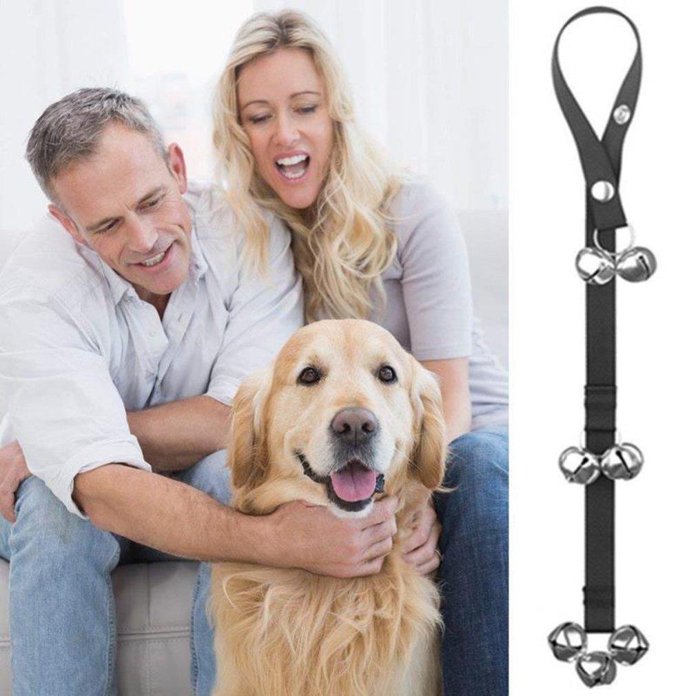 Dog Doorbell Rope Pet Safe Leash Rope Anti-Dog Grab Bite With Alarm Bells For Dog Training Safe Bite-resistant 1pc/2pcs optional-1