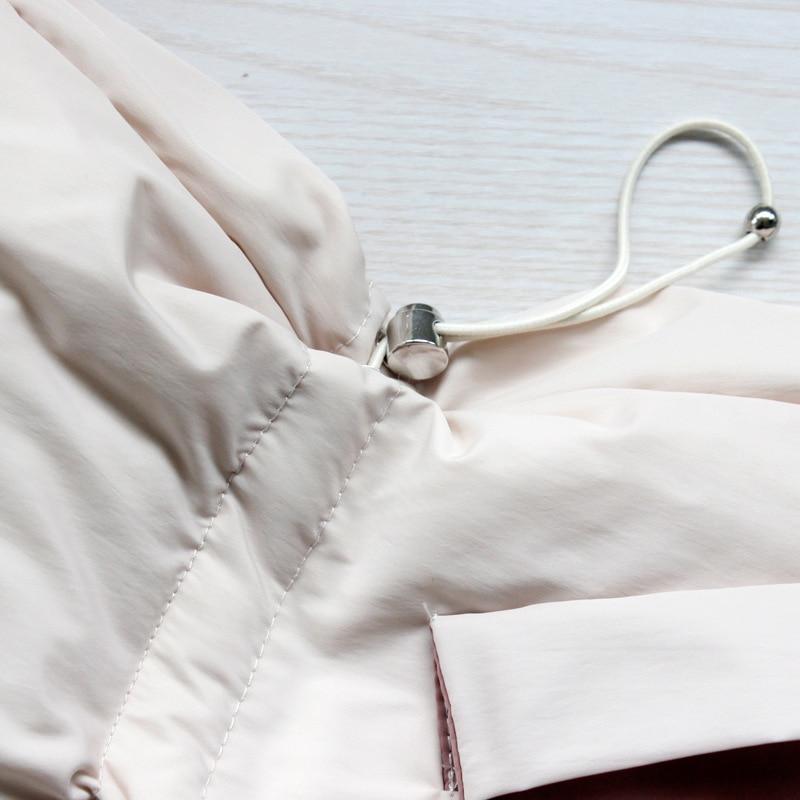 Winter Coat Women Big Fur Collar Down Coat White Duck Down Jacket Women Korean Puffer Jacket Warm Parka Casaco YY1405