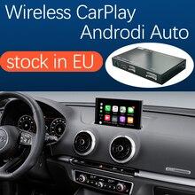 무선 애플 CarPlay 안드로이드 자동 인터페이스 아우디 A3 2013 2018, AirPlay 미러 링크 자동차 놀이 기능