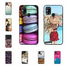 Funda para Samsung Galaxy M31, carcasa, carcasa fina de silicona TPU suave para Samsung Galaxy M31 M 31 M315F, carcasa para teléfono