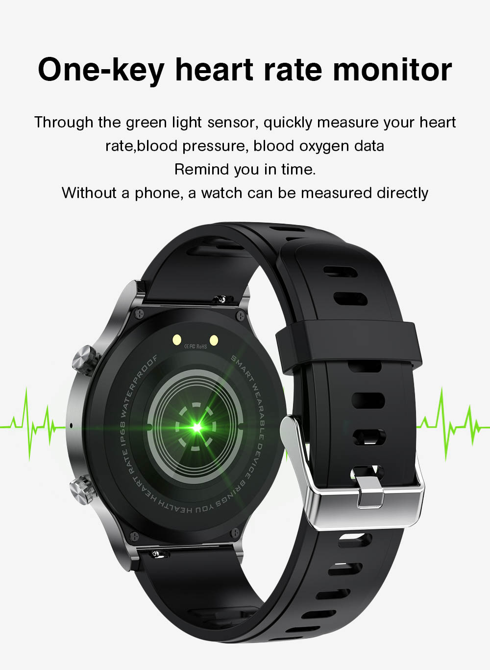 H8039aaf3cd704155870a6c14ed1e509fd NUOBO 2021 New Smart Watch Men Bluetooth Call Heart Rate Blood Pressure Sports IP68 Waterproof Smartwatch for Android IOS Phone