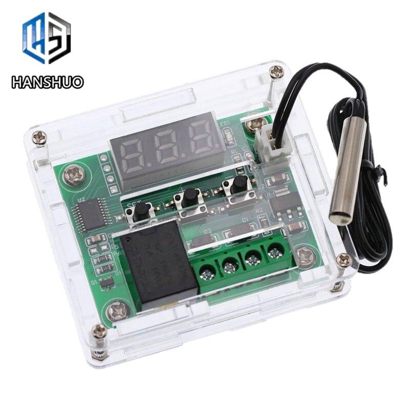 1 piezas W1209 DC 12 V fría temperatura termostato interruptor de controle de temperatura controlador de temperatura termómetro prazo