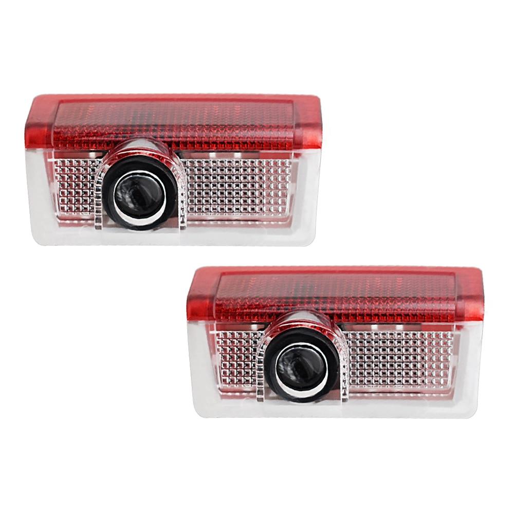 2 предмета Led пригласительные огни в дверь автомобиля Светильник проектор логотипа для Mercedes Benz W212 W205 AMG ML W166 W176 W177 W213 W246 GLB GLC GLS GLE