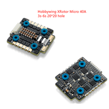 20x20mm Hobbywing XRotor Micro 40A 3S-6S BLheli_32 Dshot1200 Pronto 4in1 Brushless ESC per RC Drone FPV Da Corsa freestyle