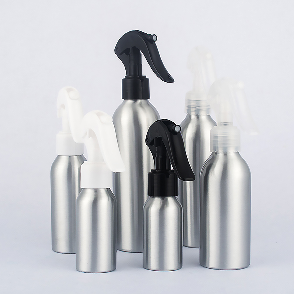 40ml/50ml/100ml/150ml/250ml Aluminum Spray Bottle Portable Mini Perfume Bottles Empty Refillable Cosmetic Sprayer Atomizer