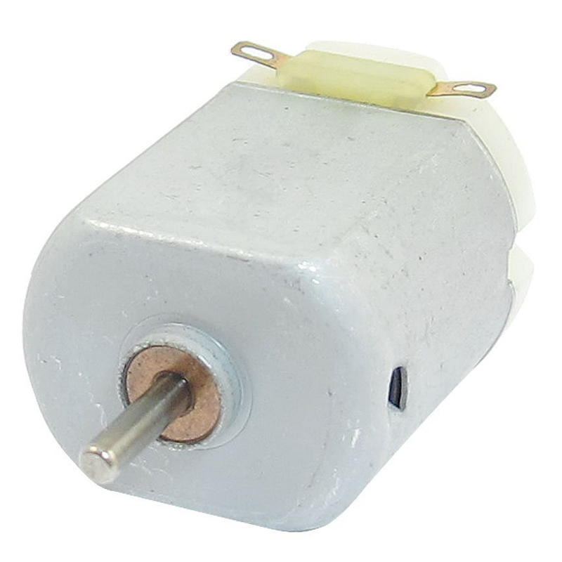 6300-23000RPM 3-6V High Torque Magnetic Electric Mini DC Motor Silver
