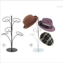 Европейский стиль железная картина с головным убором стойка Hatstand витрина для шляп Набор Hat Rack Hallstand шарф Вешалка для хранения вешалок