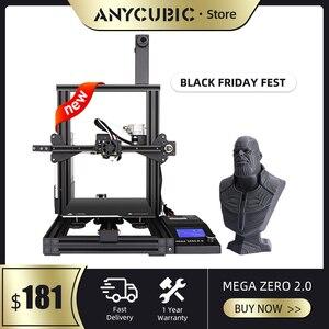 Image 3 - ANYCUBIC Mega S/ X /Zero/Pro 3d Printer Full Metal Frame Plus Size Desktop 3d drucker High Precision stampante 3d impresora 3d