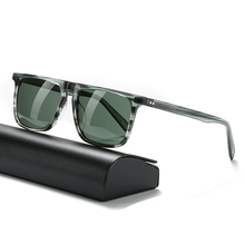 Square sunglasses men polarized glasses G15 lens luxury