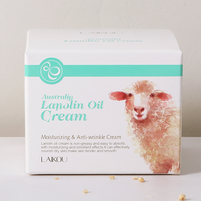 LAIKOU Brand Lanolin Moisturizing Anti-wrinkle Cream For Face Skin Care Whitening Cream Marks Nourishing Acne Scar Removal Cream