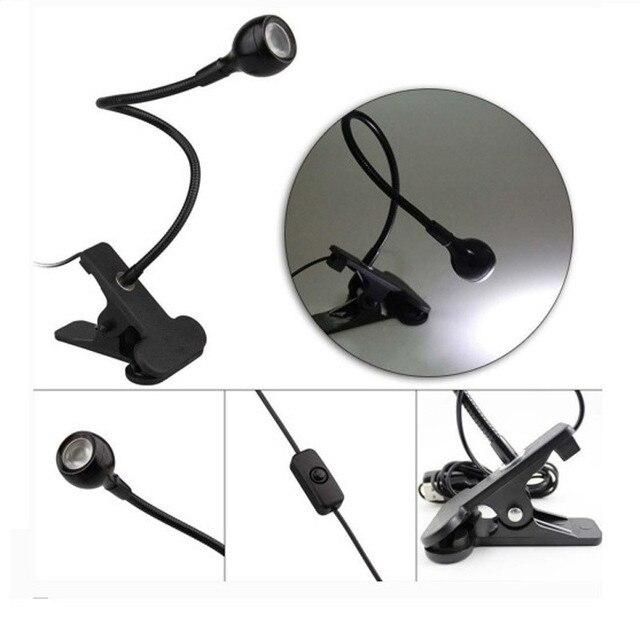 200pcs/lot USB Reading Lamp RunningSnail Flexible Mini LED Light with Touch Switch for Laptop Desktop Power Bank wholesale