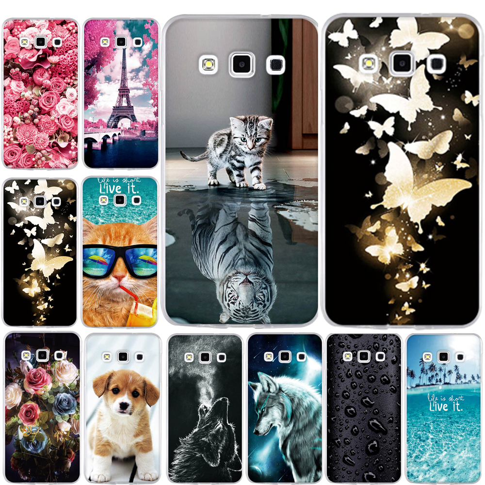 Phone Cases for Samsung Galaxy A3 2015 Case Cover Silicone for Samsung A3 2015 Cases for Galaxy A3 A300F 4.5 2015 Soft TPU Case image