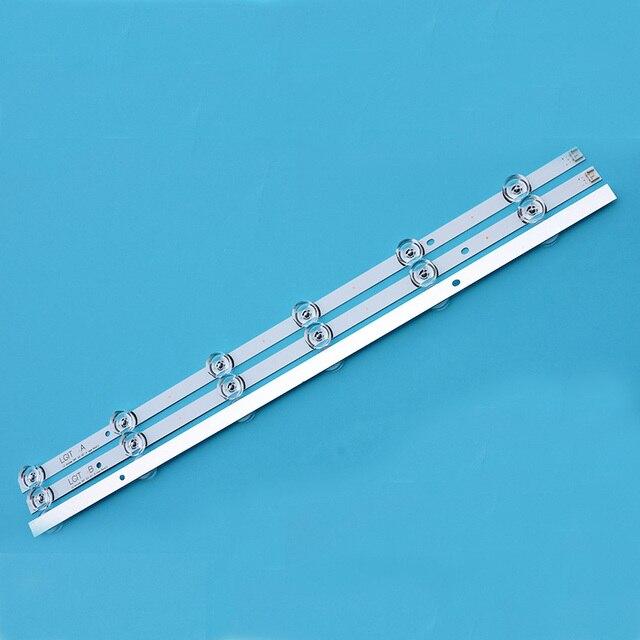 Полный светодиодный блок подсветки идеально подходит для 32LB561V UOT A B 32 дюйма DRT 3,0 32 A B 6916l-2223A 6916l-2224A 3*6 светодиодный 590 мм