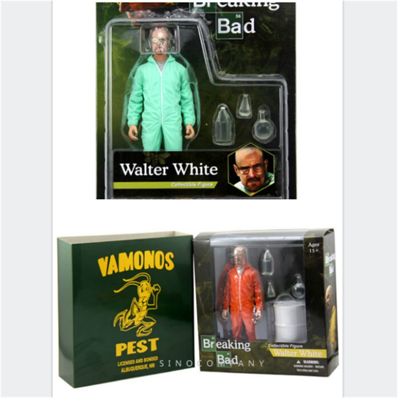 1 box Gift 6inch Breaking Bad Heisenberg Walter White Action Figure Collectible Figure Model Toy Classic Toys Gift image