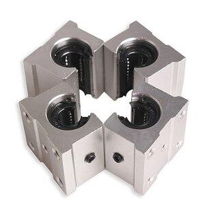 4 x SBR12UU 12mm Aluminum Line