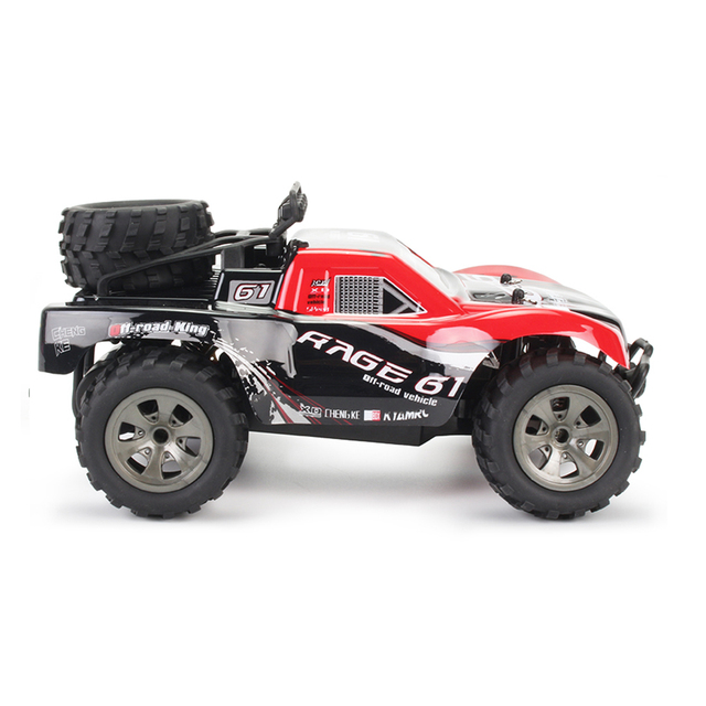 1:18 48KM/H 2.4G Machines Remote Control Model Vehicle Kids Electric RC Car Gift Climbing Big Tire Off Road Truck High Speed 4