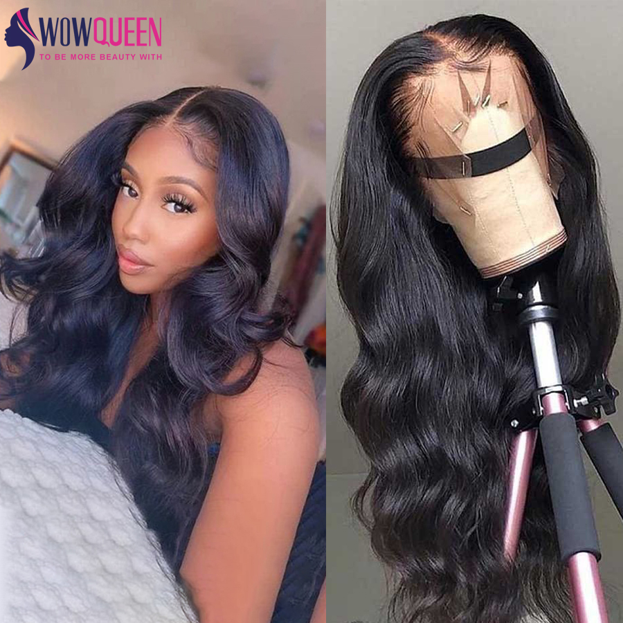 30 Inch 4x4 Lace Closure Wig Pre Plucked 13x6 Lace Front Wig Body Wave Wig Malaysian Remy Lace Front Human Hair Wigs For Women