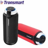 Tüketici Elektroniği'ten Taşınabilir Hoparlörler'de Tronsmart T6 bluetooth hoparlör açık taşınabilir hoparlör kablosuz sütun Subwoofer Soundbar ses alıcısı 25W 360 Stereo ses