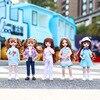 22可動関節30センチメートルbjd人形服アクセサリーファッション服靴ドレスアップ王女人形のおもちゃdiyギフト