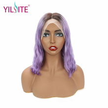 Short Lace Front Human Hair Wigs Bob Wig For Black Women Brazilian Straight Frontal Wig 150% 180% Density стоимость